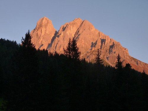 LAMINATED 32x24 Poster: Mountain South Tyrol Dolomites Peitlerkofel Italy Alpine Hiking Climb