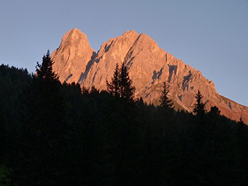 LAMINATED 32x24 Poster: Mountain South Tyrol Dolomites Peitlerkofel Italy Alpine Hiking Climb