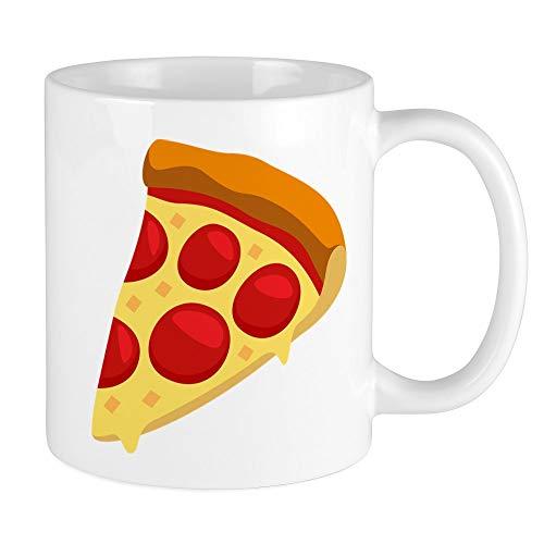 CafePress Pizza Emoji Einzigartige Kaffeetasse Kaffeetasse Teetasse