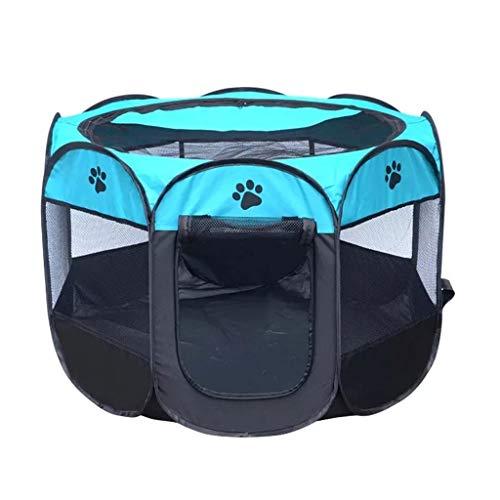 Todo el verano Nido para mascotas Nido de tela Oxford Mordisco Tela de malla transpirable El espacio cerrado se puede usar para la sala de maternidad de la sala de maternidad para gatos y perros Desmo