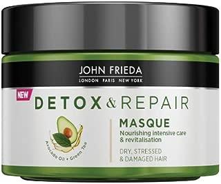 John Frieda Masque reparateur pour cheveux secs  tendus abimes l huile d avocat the vert 250