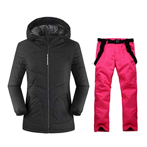 JSGJHXF2019 Skipak lang skipak snowboard dames jas en broek waterdicht pak winddicht outdoor winter