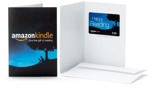 Amazon.co.uk Gift Card - In a Greeting Card - £30 (Kindle)