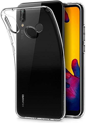 Spigen Liquid Crystal, Cover Huawei P20 Lite con Tecnologia Air Cushion e Protezione per Custodia Huawei P20 Lite - Crystal Clear