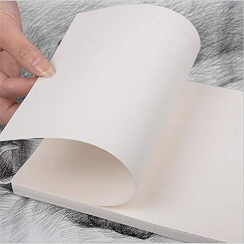 ASDAF 50pcs / Lot 8K / 16K Papier Skizze Papier Skizzen Art Zeichnung Aquarell Papier Gouache Zeichenpapier,8K 50 Seiten