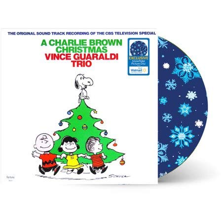 Vince Guaraldi - A Charlie Brown Christmas (Snowflake Picture Disc) Vinyl Record