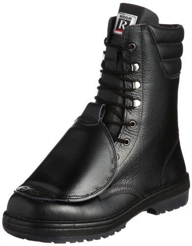 [ミドリ安全] 安全靴 JIS規格 甲プロテクタ付き 長編上靴 ラバーテック RT930 甲プロ メンズ ブラック 26.5 cm