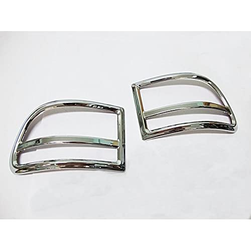 Chrome Under Rear Tail Reflector Cover Trim for New Mazda Bt50 Pro Bt-50 Pro