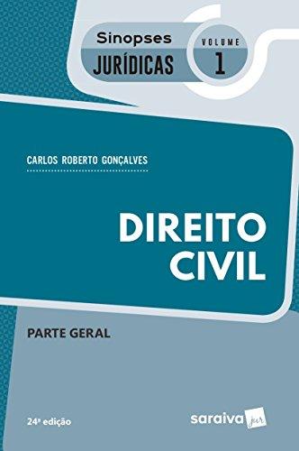 Direito Civil - Parte Geral. Coleção Sinopses Jurídicas 1