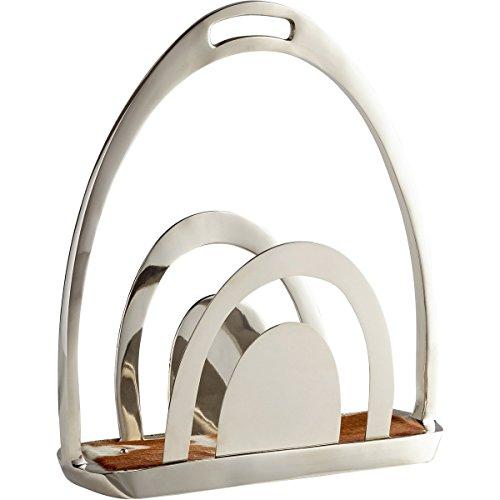 Cyan Design Platzhalter Magazin Rack, 40cm W x 44,5cm H x 17,1cm D