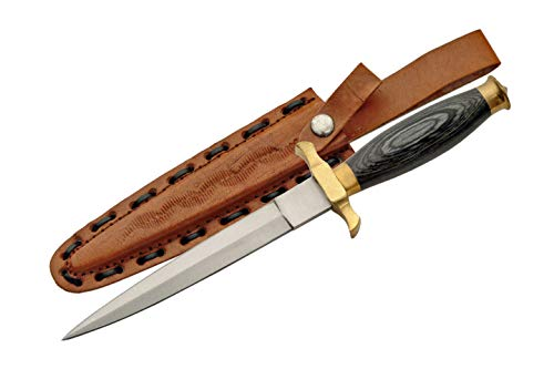 SZCO Supplies Black Wood Renaissance Dagger (203105-BK)