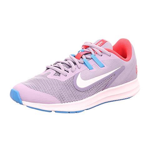 Nike Downshifter 9 JDI, Scarpe da Trail Running Unisex-Bambini, Multicolore (Stellar Indigo/White/Indigo Haze 500), 38 EU