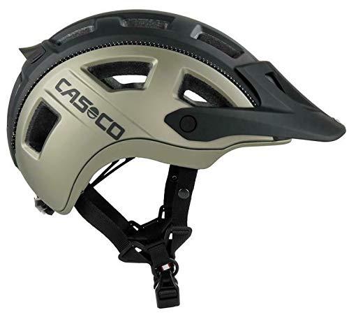Casco MTBE 2 MTB-Helm - schwarz Neongelb matt, Kopfumfang:58-62 cm