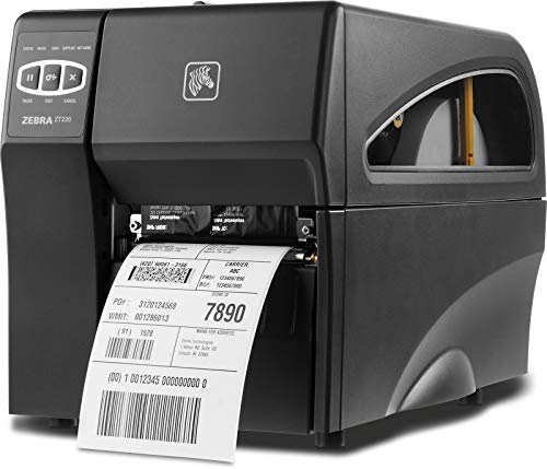 Zebra ZT220 stampante per etichette (CD) Trasferimento termico 203 x 203 DPI