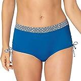Triumph - Tangier Spices - Mix & Match - Bikini da donna, con coulisse blu denim 46