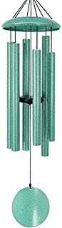 Wind Chimes Outdoor Deep Tone,36 Inch Large Sympathy Wind Chimes Outdoor with 6 Metal Tubes Tuned Relaxing Melody,Beautifu...