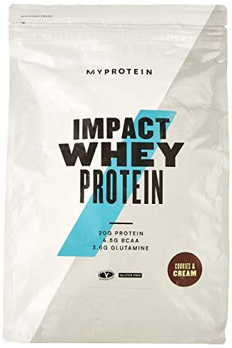 Myprotein Impact Whey Protein Cookies und Cream, 1er Pack (1 x 2500 g)