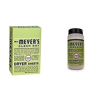 Mrs Meyer s Laundry Scent Booster + Dryer Sheets - Lemon Verbena