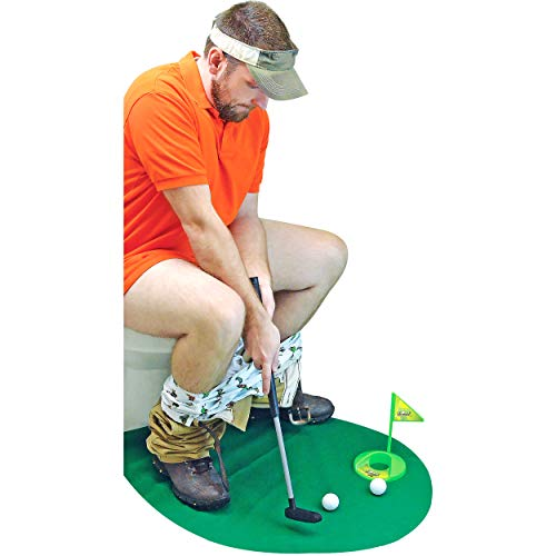 Potty Putter Toilet Time Golf Game $15.58