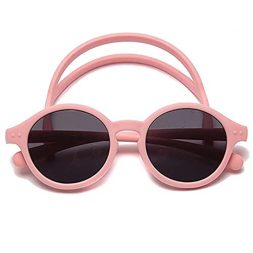 KFYOUXIN Gafas de sol de bebé de material polarizado 6-12 meses Kid UV Proection Gafas de sol con correa