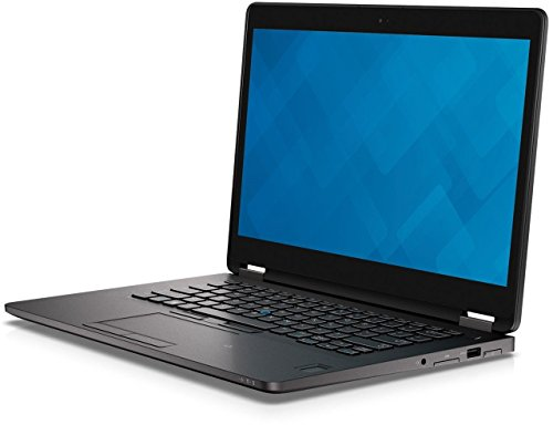 'Dell Latitude E7270 Light Compact 12'' Laptop Intel Core i5 6th Gen 8GB RAM 256GB SSD HDMI Webcam Win 10 Pro (Renewed)', black