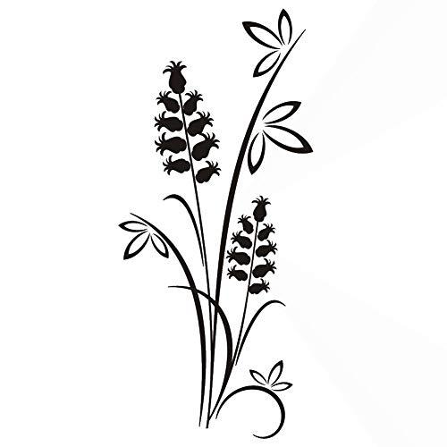 Tinkerbell Blumenstrauß wiederverwendbare Schablone große Größen Shabby Chic Modern / F10 (selbstklebende Folienschablone, Größe S – 70 x 100 cm, 27,6 x 39,4 in)