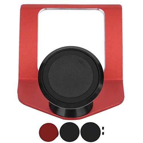 Soporte para teléfono para automóvil Soporte magnético para teléfono Soporte para teléfono celular para automóvil Soporte para automóvil para iPhone (rojo)