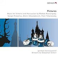 Pictures:Music For Horns [Simon Rossler; German Hornsound 8.1, Hannes Kramer] [GENUIN: GEN15340] by Simon Rossler