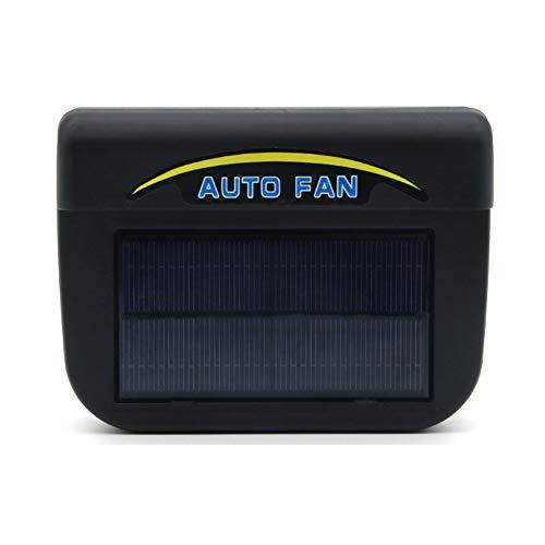 Lanbowo Solar Betrieben Autofenster Windschutz Auto Lüftungsgitter Kühler Kühler Kühler Ventilator - Large