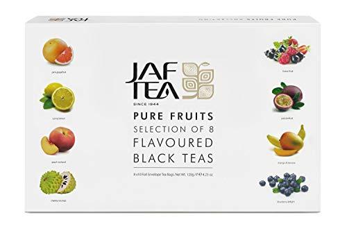 Jaf Tee -Fruchtiges Assortie- Box mit 80 Teebeutel Geschenkbox