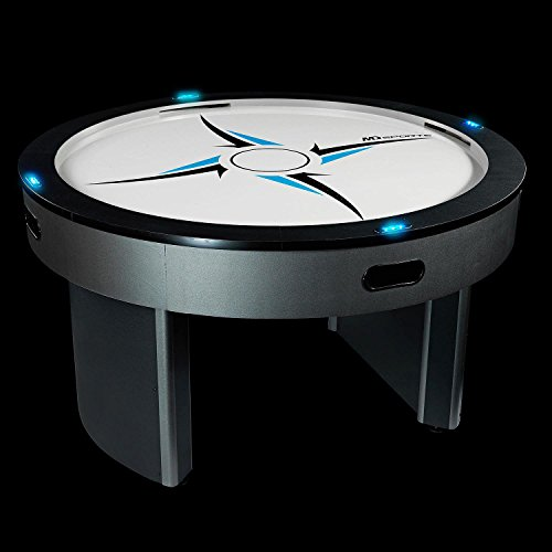 4 Player Air Hockey Table - Round Design