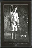 ポスター ステューシー ステューシー20th Anniversary プリント05 額装品 アルミ製ハイグレードフレーム(ブラック)