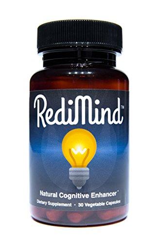 RediMind - Clinically-Proven Cognitive Enhancement Supplement - Non-GMO, Vegan, Gluten-Free
