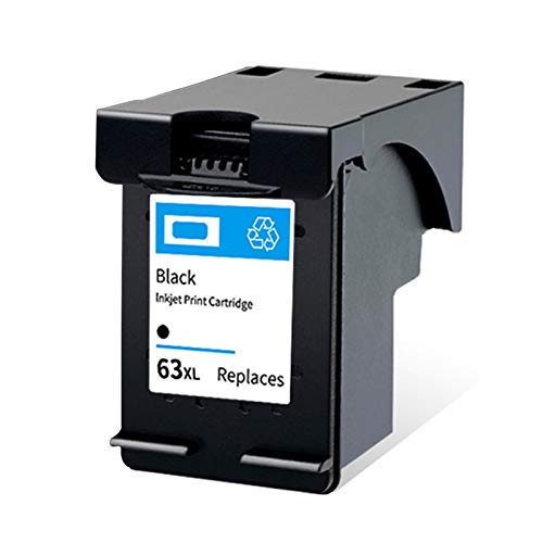 Cartucho de tinta 63XL, repuesto para impresora HP Deskjet 2130 3630 3830 Officejet 4520 4650 3632 Envy 4510 4511 compatible con cartuchos de tinta negro y tricolor negro