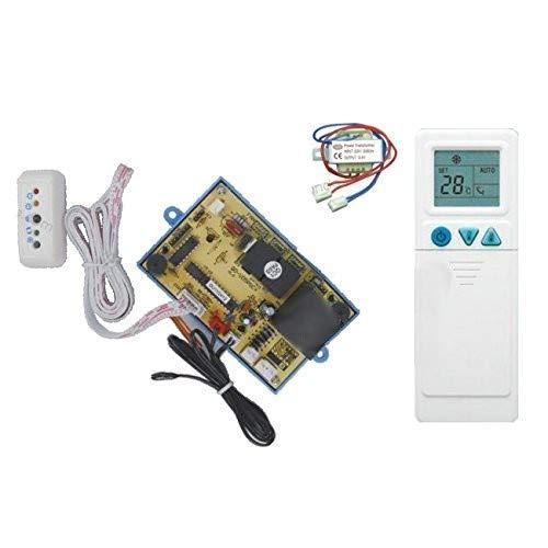 Telecomando universale più scheda per climatizzatore split - tecnologia ON-OFF - PG a 6 fili