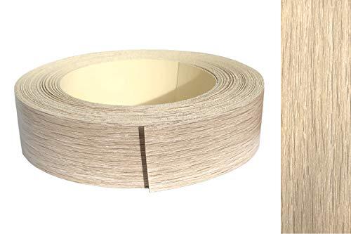 Kantenumleimer Melamin 45mm x 5m mit Schmelzkleber in Eiche grau, sonoma Dekor