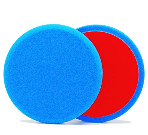 ALCLEAR 5513530B Lot de 2 Patins abrasifs Bleu Ø 135 x 25 mm