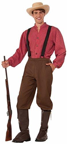 Forum Men's Pioneer Man Costume, Multi/Color, One Size