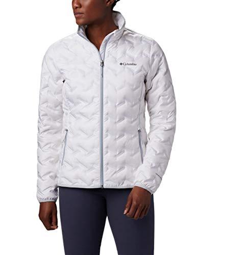 Columbia Delta Ridge Daunenjacke für Damen, Weiß, Größe XXL
