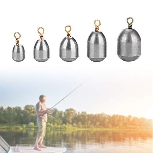 Yosoo Health Gear Kit de sumideros de Pesas 20PCS, Pesas de Pesca...