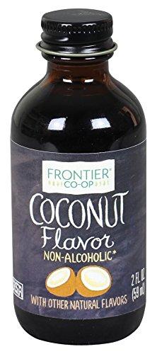 Frontier Co-op Coconut Flavor, Non-Alcoholic, 2 ounce bottle
