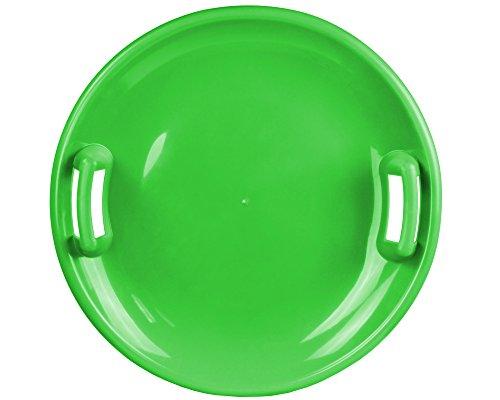 Ondis24 Tellerrutscher mit 2 Griffen Porutscher Tellerschlitten Schlitten Kunststoff grün 60 cm leicht, stabil & günstig