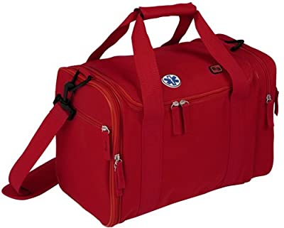 Elite Bags Compact Medical First Aid Bag Red With Multiple Pockets Unkitted from Elite Bags