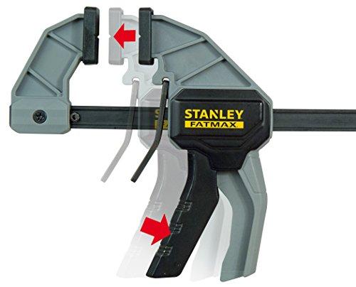 Stanley FatMax klappbare Werkbank / Express Werkbank (bis 455kg belastbar, mit Metallbeinen für höchste Stabilität, große Arbeitsfläche, mit praktischem Tragegriff, für schnellen Aufbau) FMST1-75672 - 7