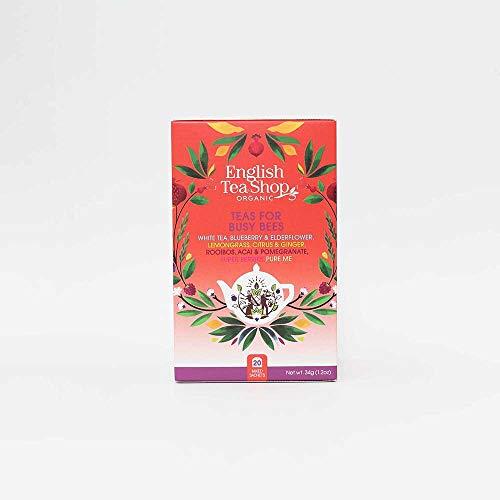 English Tea Shop Teas for Busy Bees Tea Bag Sachets, 20-Piece