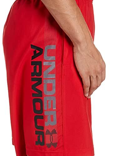 Under Armour Under Armour Herren ultraleichte und atmungsaktive Short, Rot (Red / Black), XXX-Large