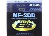 TDK ワープロ用 3.5インチ 2DD フロッピーディスク 1枚 アンフォーマット MF2DD プラスチックケース入 スーパーEB