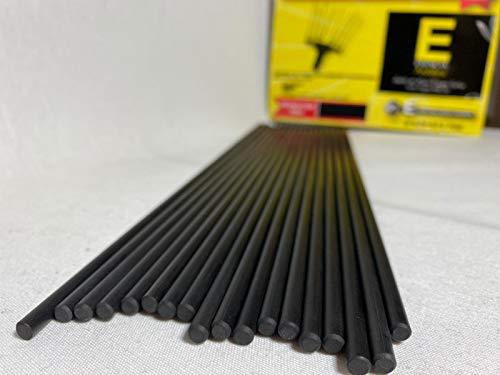 Asta in fibra di carbonio Abbacchiatrice Ø 5 mm - 350 mm ■ Adattabili agli Abbacchiatori Zanon- Benza- Boomerang- Brumita- Zome 08 ■ (confezione da 10 unità)