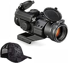 Vortex Optics Strikefire II Red Dot Sight - 4 MOA Red/Green Dot with Vortex Hat