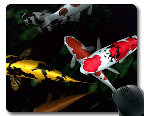 Alfombrilla de ratón Grande, Tema de pez Betta de Tapete de ratón...